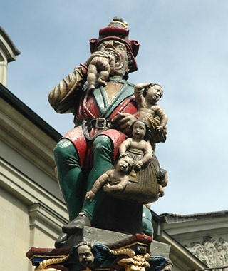 Kindlifresser (Child Eater) Fountain, Bern, Switzerland