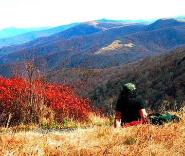 Scaling the Great Smoky Mountains, Tennessee