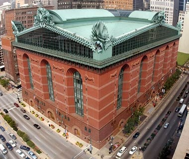 Harold WashingtonLibrary, Chicago