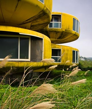 """The UFO House,"" Sanjhih, Taiwan"