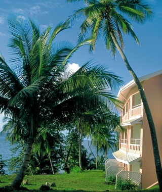 Tobago, Trinidad & Tobago: Blue Haven Hotel