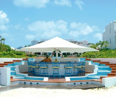 Azure BeachBar, CuisinArtResort & Spa, Anguilla, British WestIndies