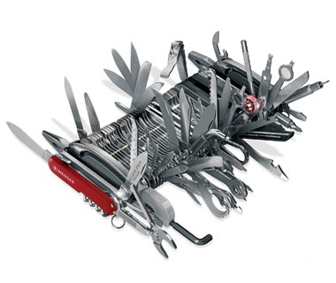 Huge Swiss Army Knife
