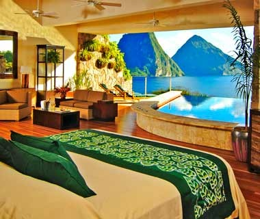 #3NEW Jade Mountain (97.50)St. Lucia
