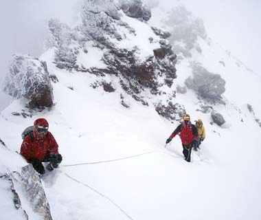 Winter Mountaineering Clinic