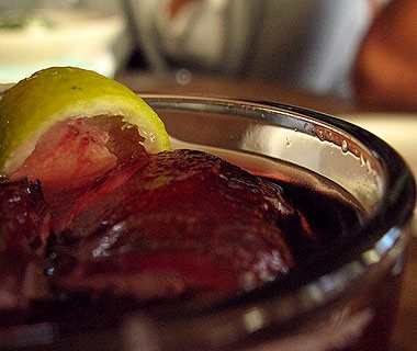 Spain: Red Wine & Coca-Cola Cocktail