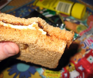 India: Cheese & Chutney Sandwiches