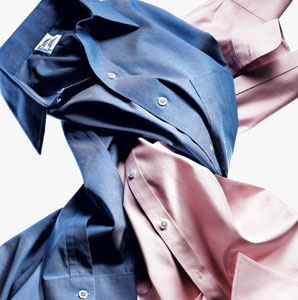 Wrinkle free travel shirt travel leisure for How do wrinkle free shirts work