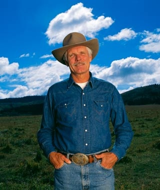 Ted Turner, Casa Grande, Vermejo Park Ranch, Raton,NM