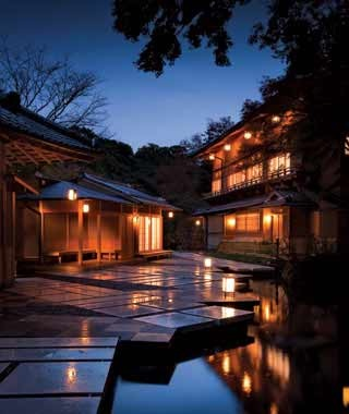 best romantic getaways Hoshinoya Kyoto, Kyoto, Japan