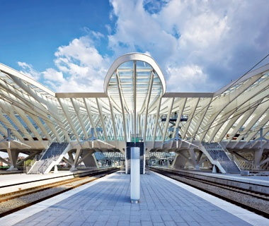 Best Terminal Liège-Guillemins High-Speed Railway Station