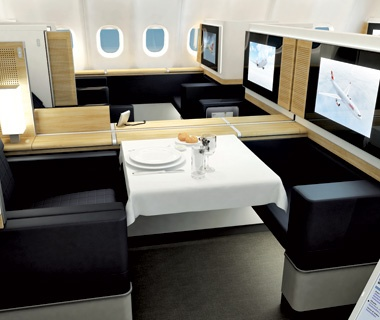 Best Transportation Swiss International Air Lines First-Class Suite