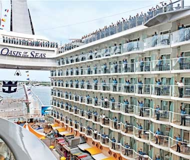 The Biggest Cruise Ship Ever Travel Leisure - Biggest cruise ships in history