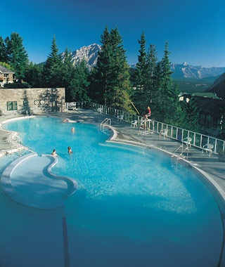 Banff Upper Hot Springs, Alberta, Canada