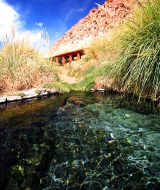 Puritama Hot Springs,  Atacama Desert, Chile