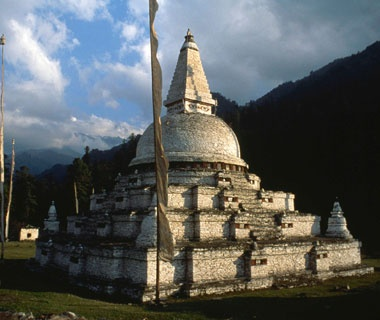 moutain temples of Bhutan