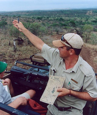 safari tour guide in South Africa