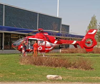 Book an air ambulance.