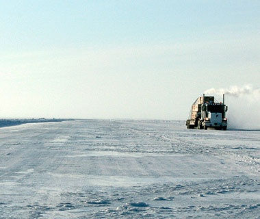 Ice Roads, Northwest Territories, Canada