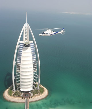 Take a Helicopter Tour: Hong Kong and Dubai