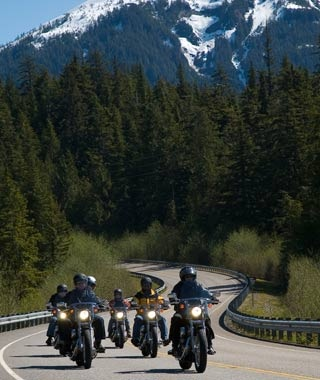Ride a Harley: Caribbean and Alaska