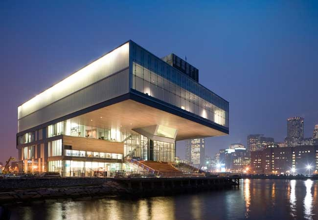 Boston's New Institute of Contemporary Art.