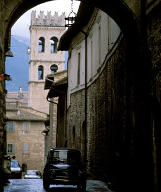 Driving in Historic Zones, Italy