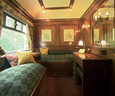 World S Fanciest Sleeper Cars Travel Leisure