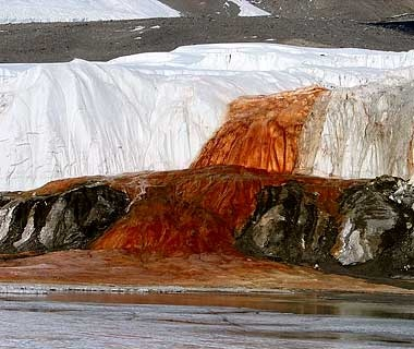 Blood Falls, Antarctica