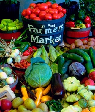 St. Paul Farmers' Market, Minnesota