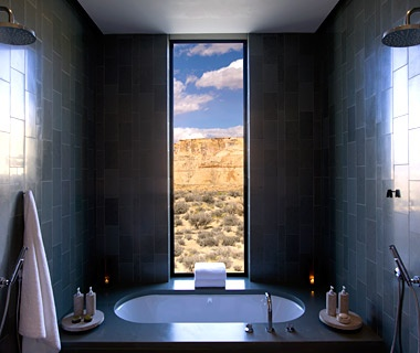 World S Sexiest Hotel Showers Travel Leisure