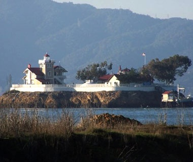 California: East Brother Island