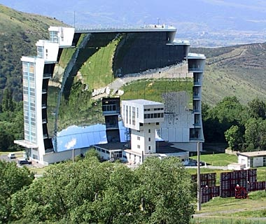 Solar Furnace, Font-Romeu-Odeillo-Via, France
