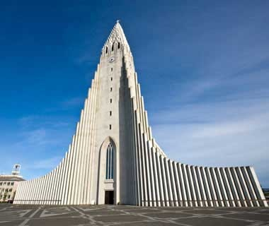 The Church of Hallgrimur, Reykjavik, Iceland