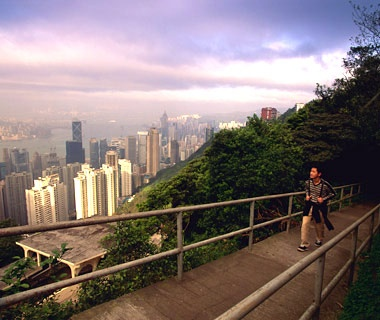 The Hong Kong Trail, Victoria Peak, Hong Kong
