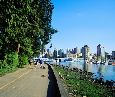 The Seawall, Vancouver, British Columbia