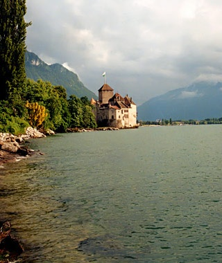 Montreux to Chateau de Chillon, Switzerland