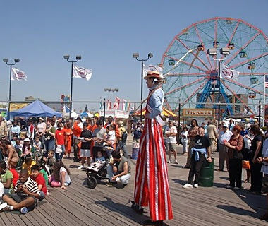 Coney Island Boardwalk, Brooklyn, NY