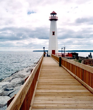 Huron Boardwalk, St. Ignace, MI