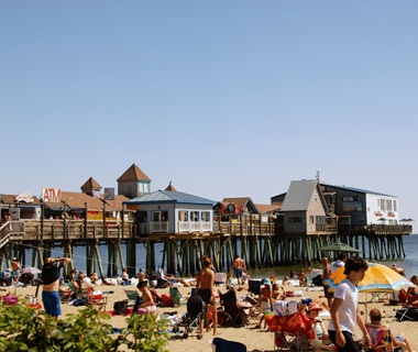 Old Orchard Beach Pier & Boardwalk, Old Orchard Beach, ME