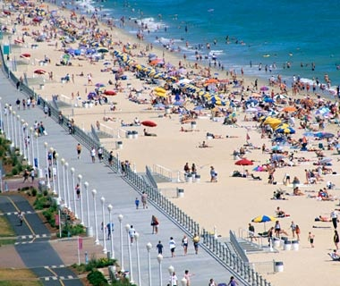 America S Best Beach Boardwalks Travel Leisure