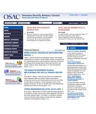 Overseas Security Advisory Council