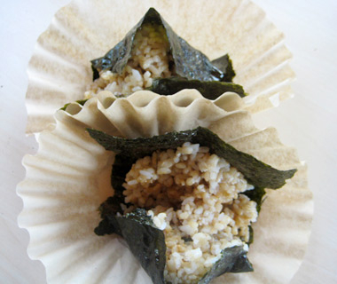 Onigiri, Todbott's Triangles Food Cart, Portland, OR
