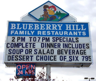 Blueberry Hill Restaurant, Las Vegas