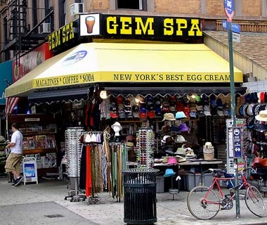 Gem Spa, New York City