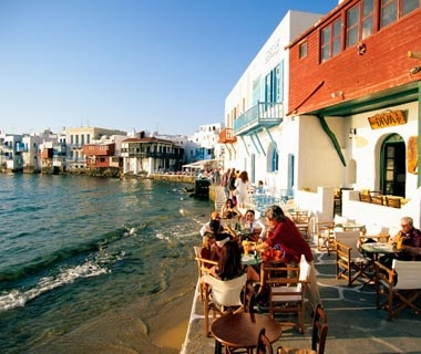 No. 3: Cyclades, Greece (excluding Santorini)