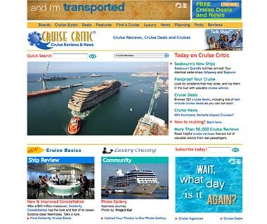 Shop Around for the Right Cruise: Cruisecritic.com
