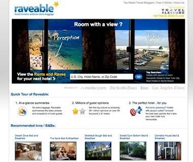 Select a Property That's Right for You: Raveable.com