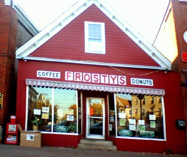 Frosty's Donut & Coffee Shop, Brunswick, ME