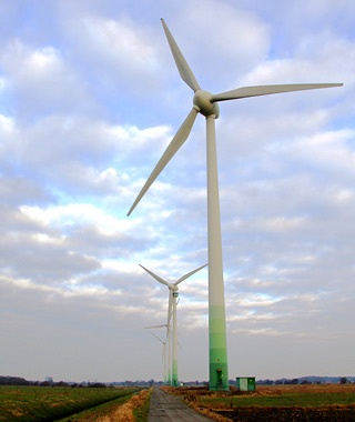 Holtriem Windpark, Westerholt, Germany